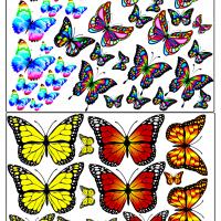 Метелики та бджілки