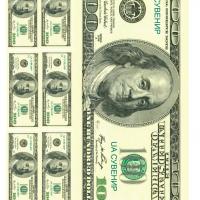 Вафельний декор Гроші