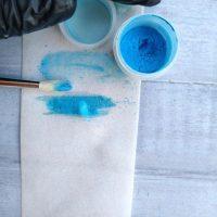 Сухий барвник перламутр блакитний 2г